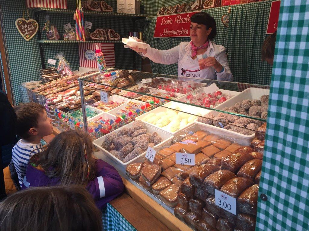 Basler Herbstmesse Sweets Shop