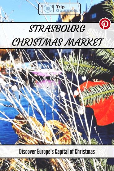 Strasbourg Christmas Market Pinterest