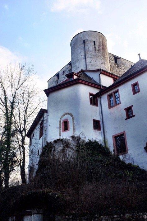 Castle Aesch from below