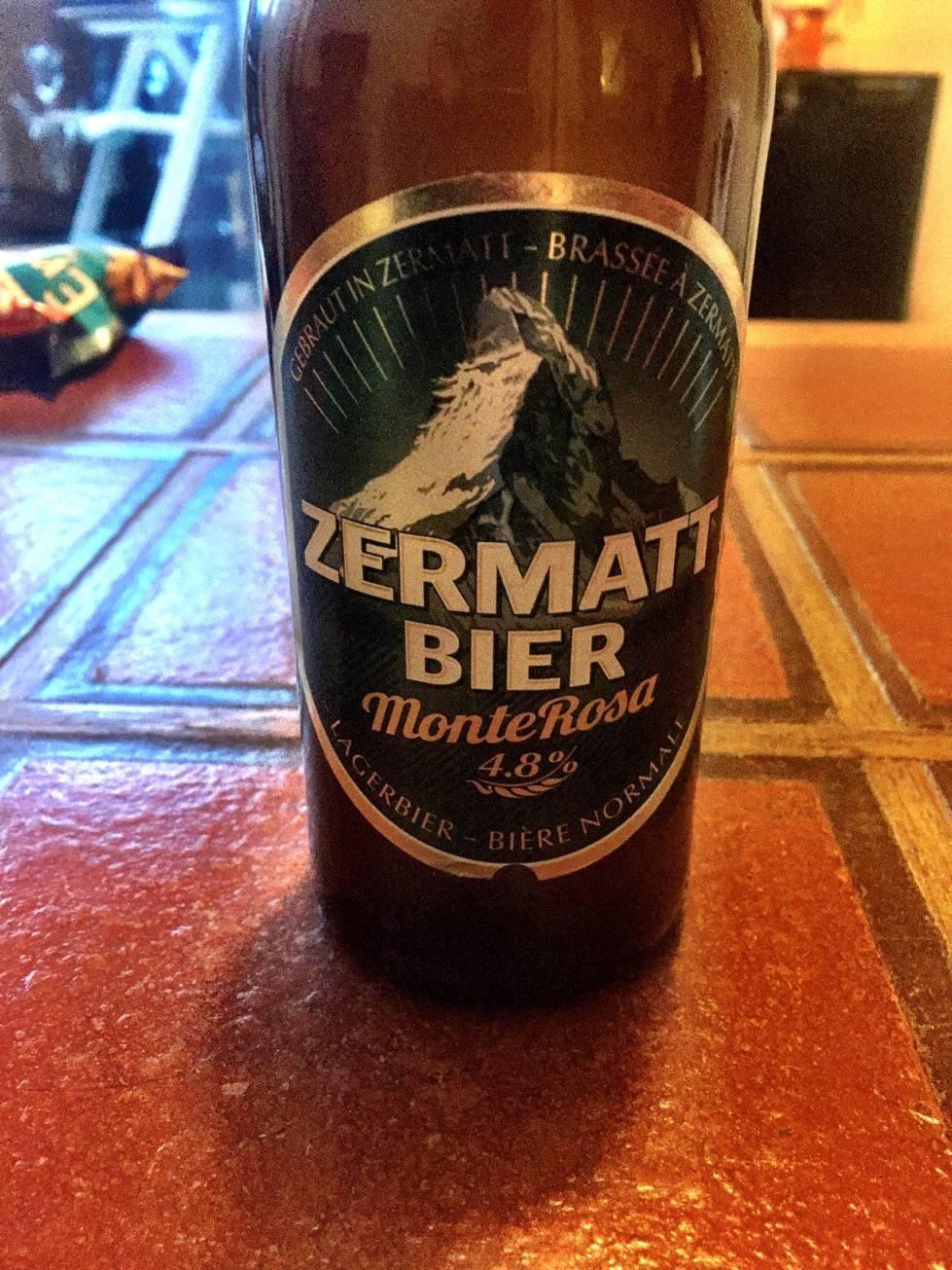 Zermatt Beer Monte Rosa