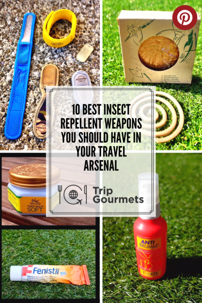 best insect repellent Trip Gourmets Pinterest