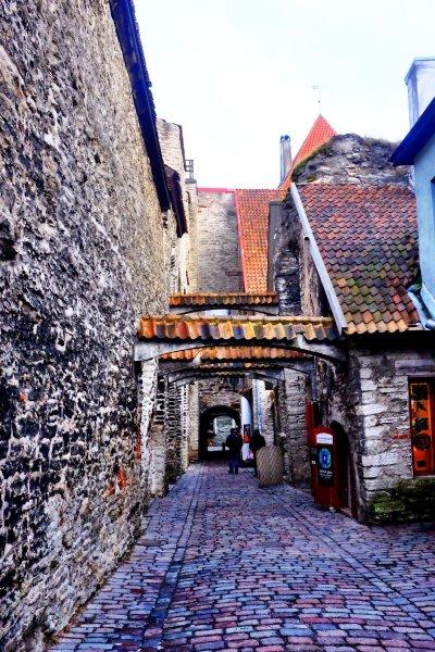 Tallinn city break Katariina käik in Tallinn