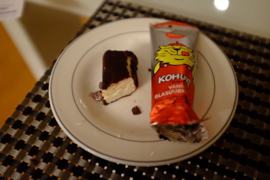 Kohuke is a popular sweet snack in Tallinn and all of Estonia
