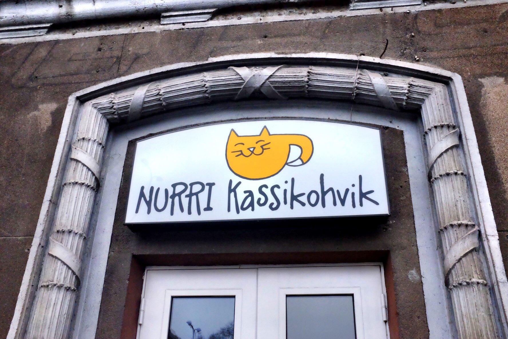 Nurri Kassikohvik outside in Tallinn