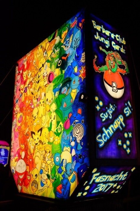 Pokemon Lantern at the Basler Fasnacht