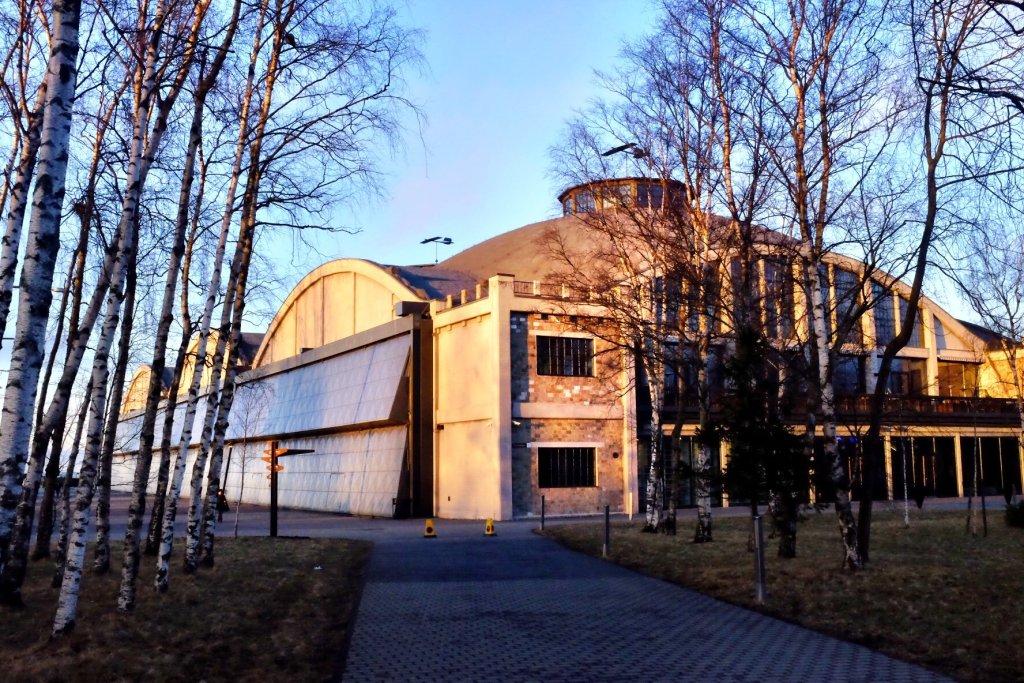 Seaplane Harbour Main Building in Tallinn