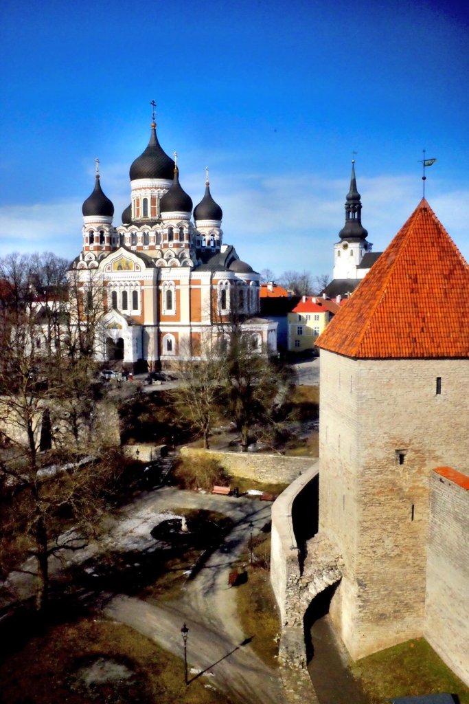 St. Alexander Nevsky Cathedral in Tallinn