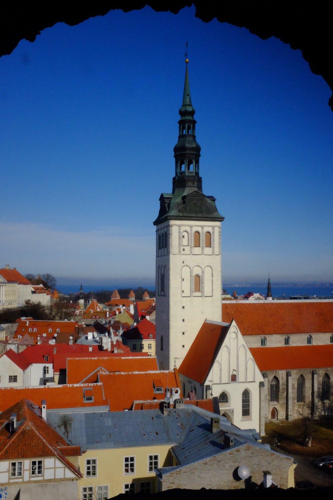 Weekend in Tallinn St.Nicholas Church in Tallinn