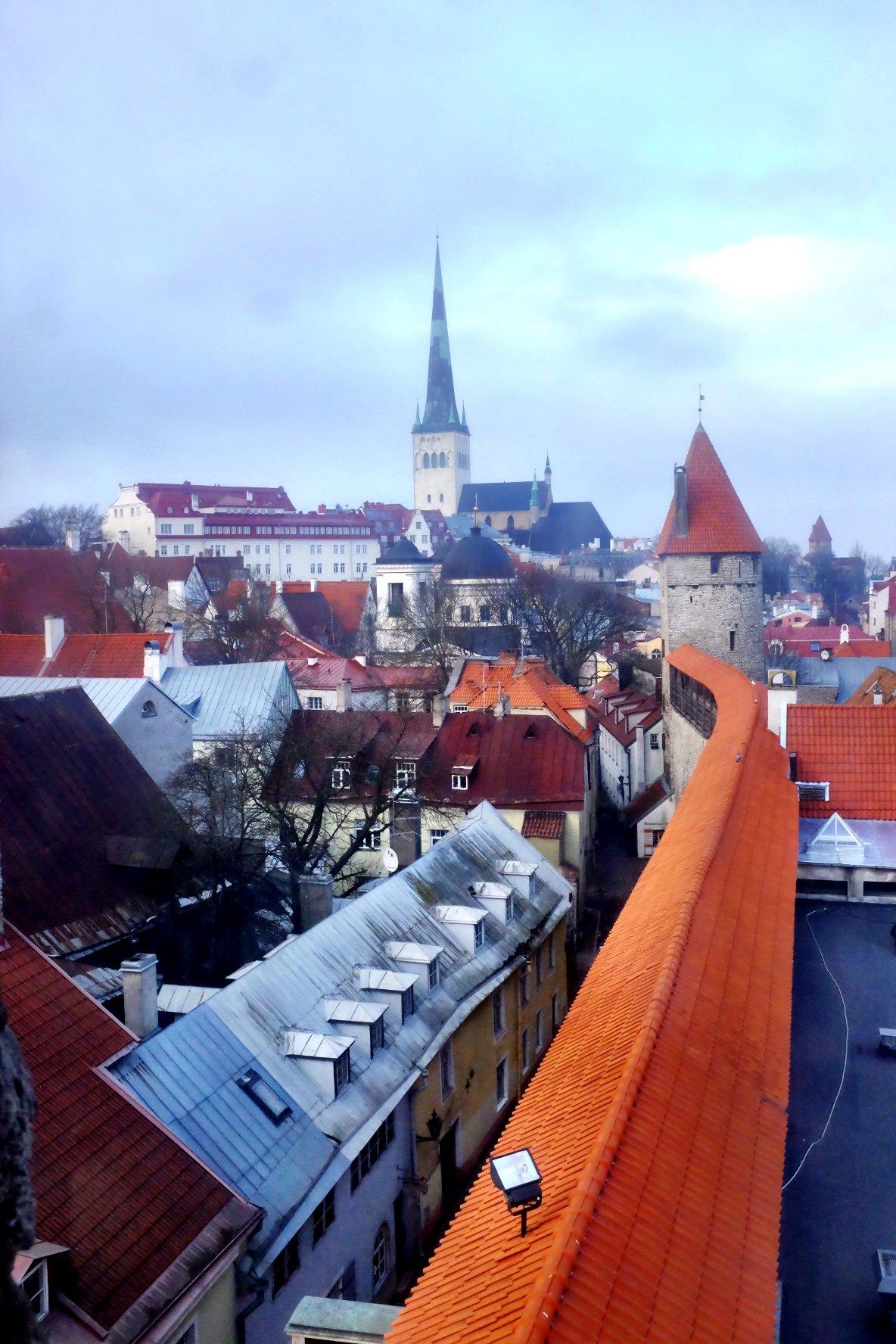 Tallinn as seen from the walls