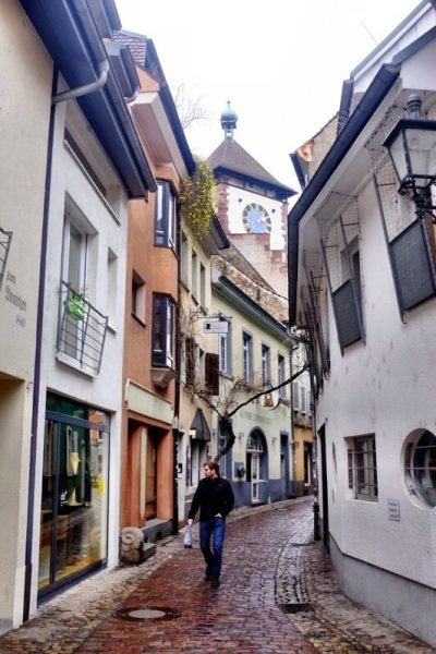 Things to do in Freiburg Germany narrow alley