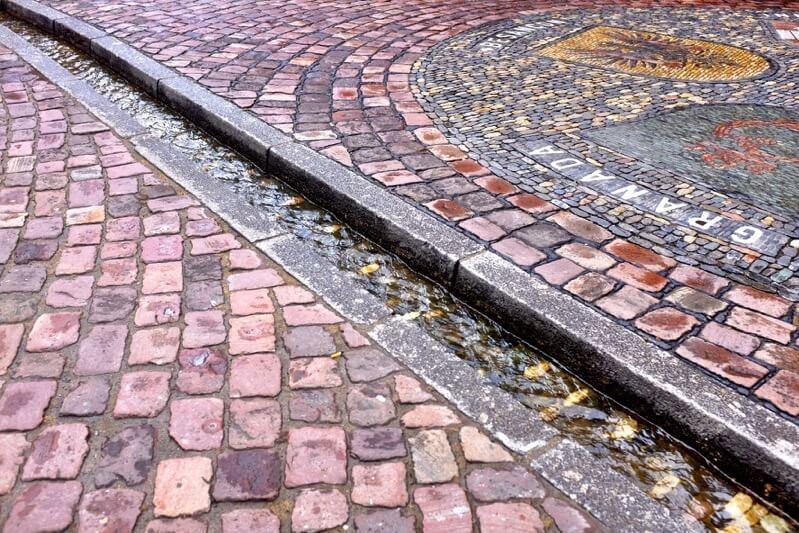 Bächle in Freiburg