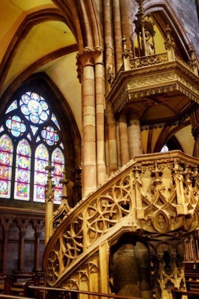 Things to do in Freiburg Germany pulpit