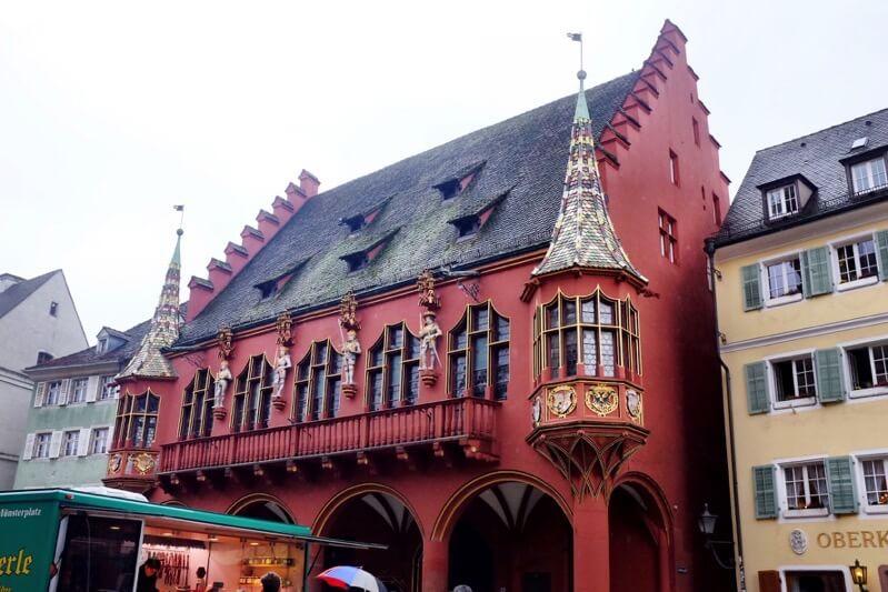 Historical department store Freiburg