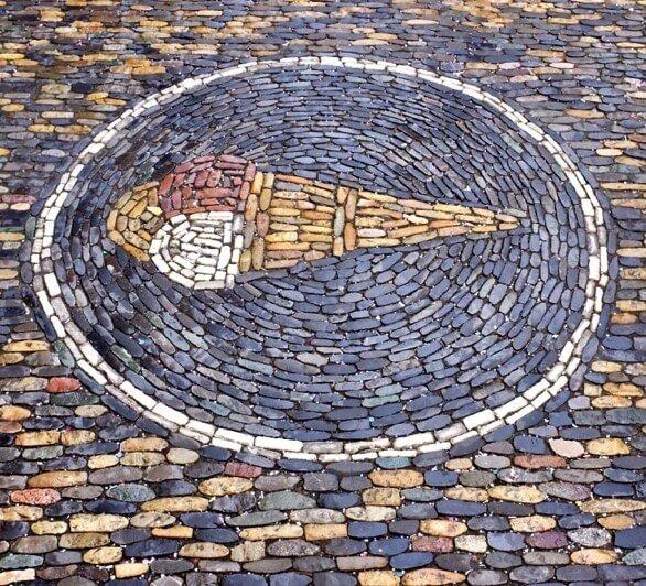 Mosaic Ice Cream Parlor Freiburg
