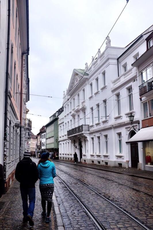 Street in Freiburg