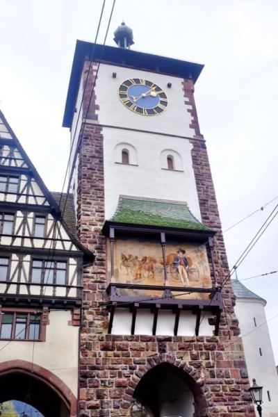 Things to do in Freiburg Germany Swabian gate Freiburg