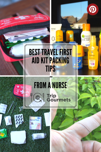 best first aid kit for backpacking Pinterest Trip Gourmets