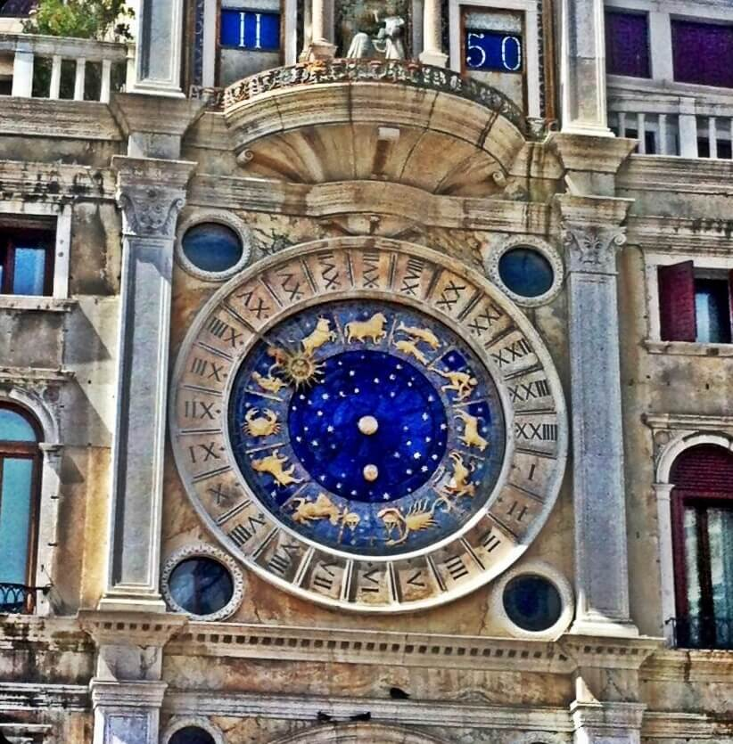 Trip Gourmets Thomas Mathys Photography St. Mark's Clock in Venice