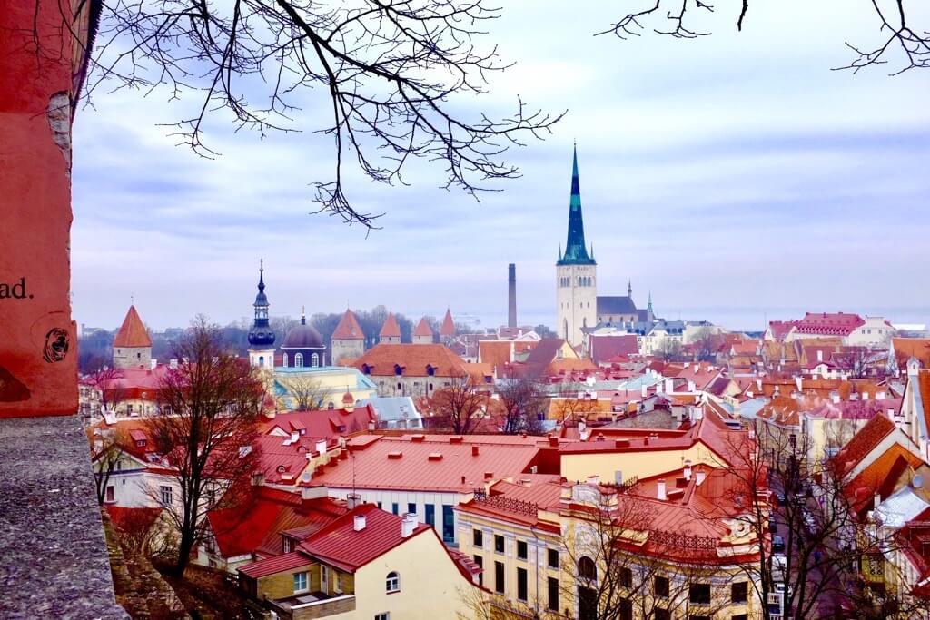 Tallinn as seen from Kohtuotsa viewing platform