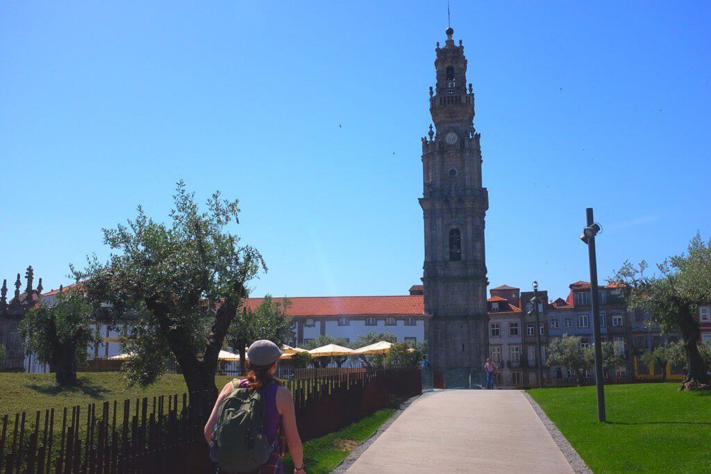 Three days in Porto. Clerigos tower
