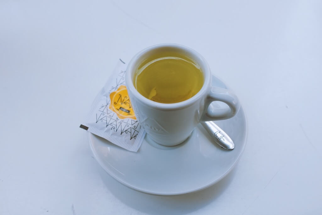 Foodie highlights of Porto, Delicious lemon zest tea