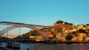 Three days in Porto - Ponte Dom Luis sunset