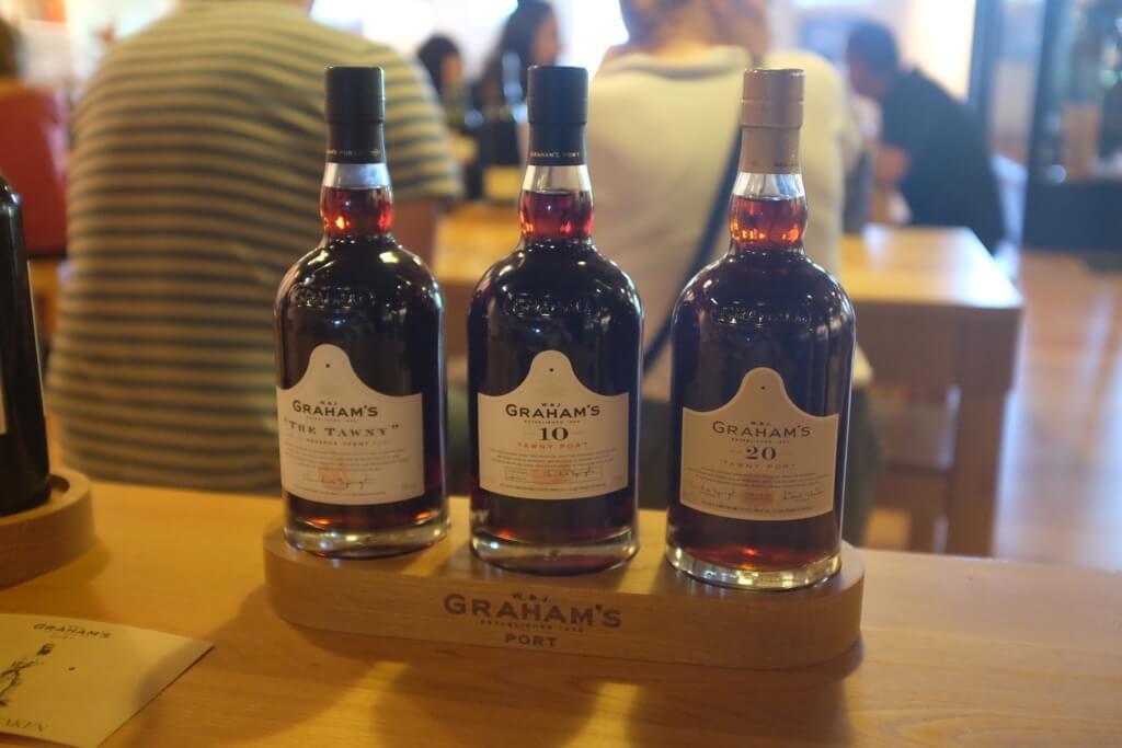 Foodie highlights of Porto Tawny tasting
