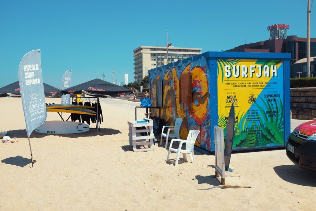 Three days in Porto. Espinho Surf School