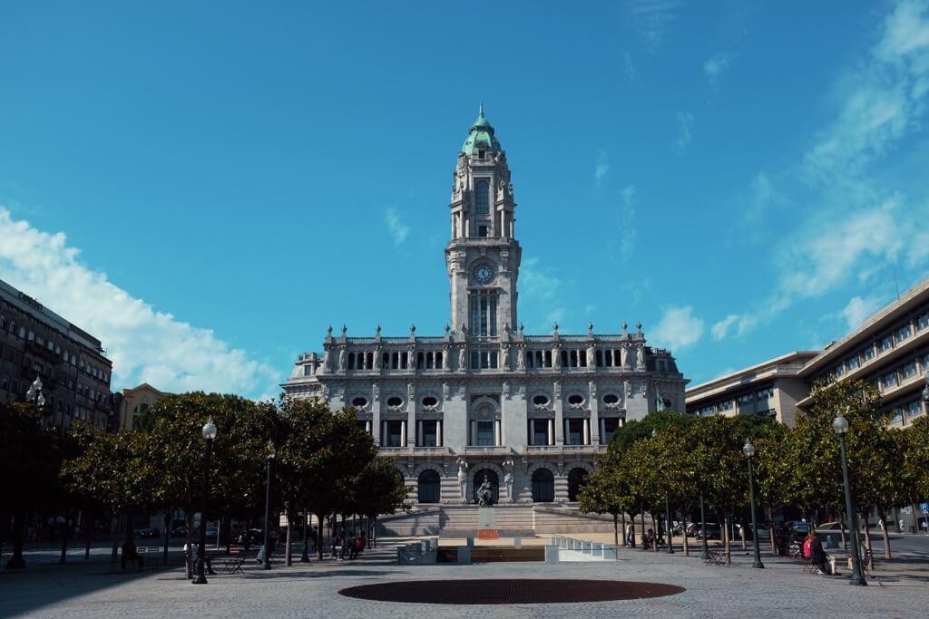 Three days in Porto. Town hall