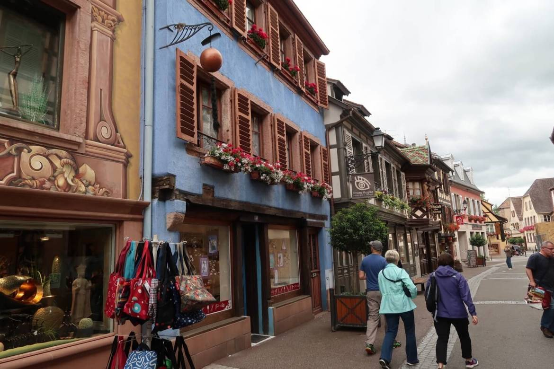 Alsace wine route Ribeauville