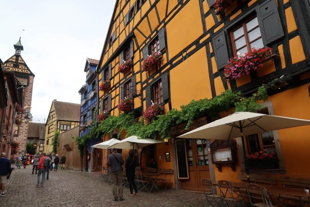Riquewihr - beautiful village on the Alsace wine route