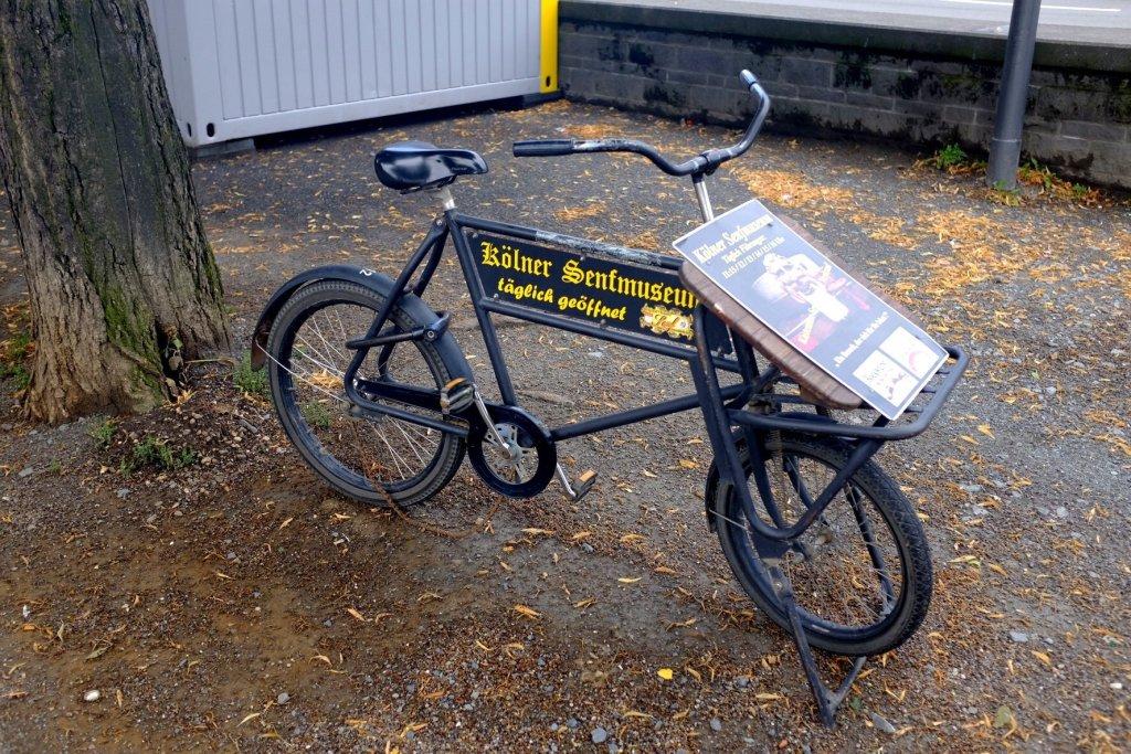 push bike mustard museum Köln Cologne Gallery Trip Gourmets