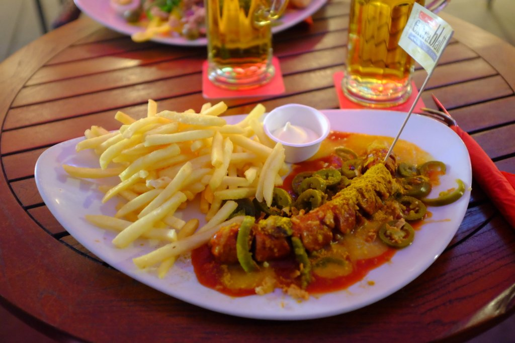 Curry wurst sausage Köln Cologne Gallery Trip Gourmets