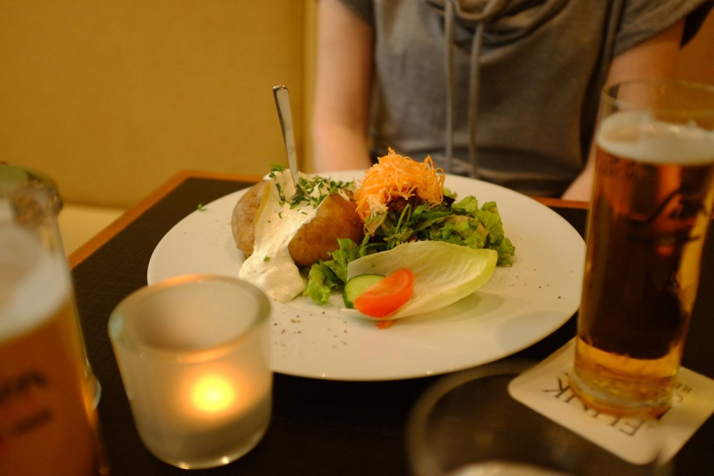 baked potato food Köln  Cologne Gallery Trip Gourmets