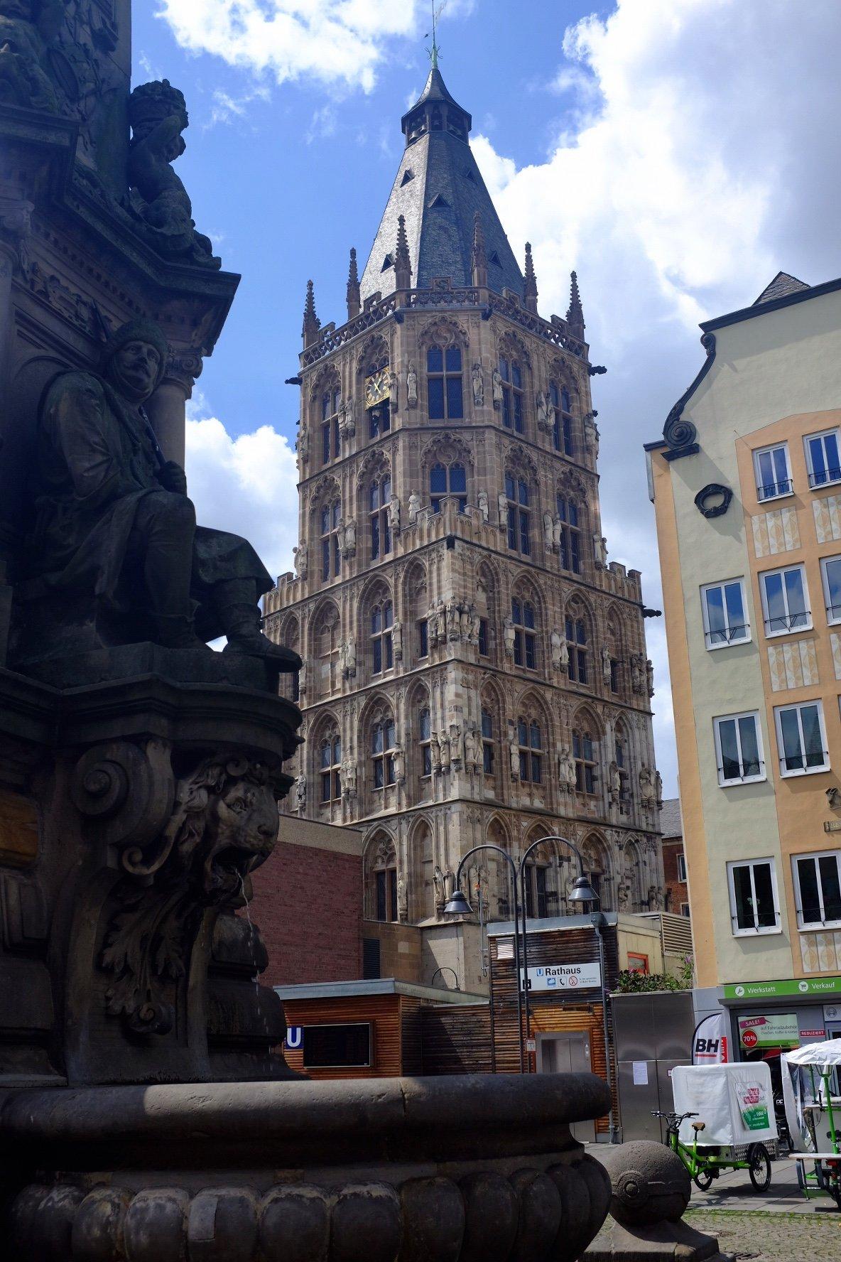 historical city hall Köln Cologne Gallery Trip Gourmets