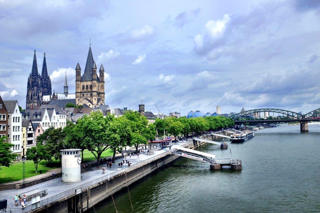 Köln Dom Rhein Cologne Gallery Trip Gourmets
