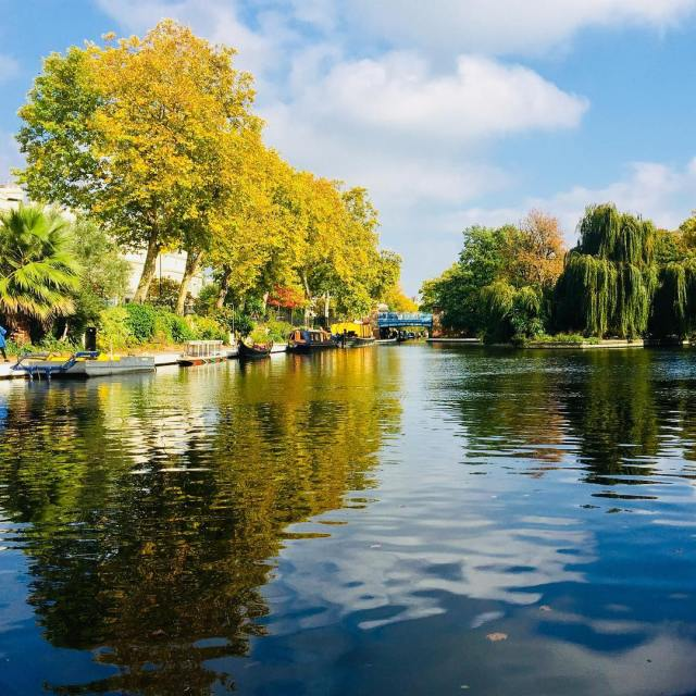 We spotted this wonderful place in Little Venice in Londonhellip