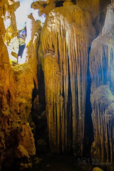 Halong bay cruise review stalactite maze cave