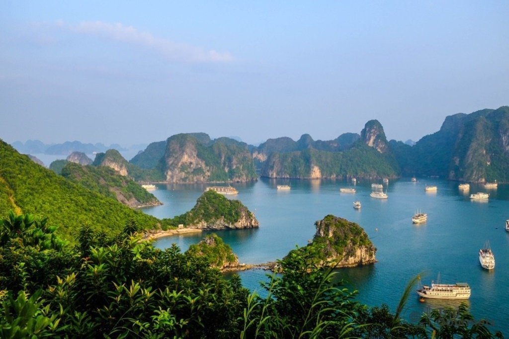 Halong bay cruise review view titop