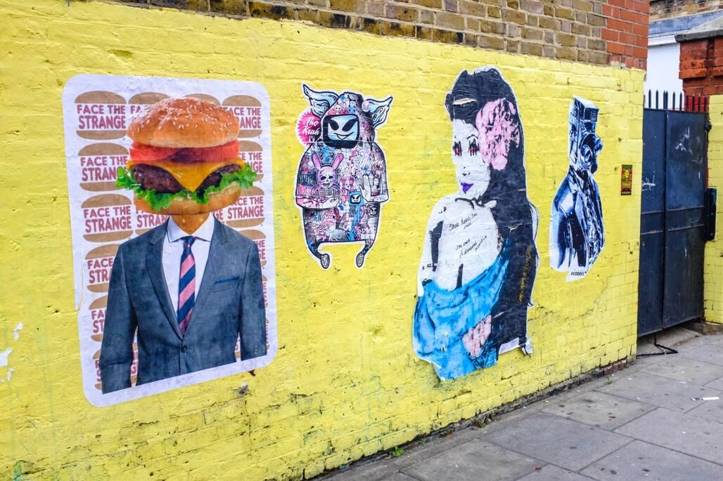 Tripgourmets Walking Regents Canal Street Art Camden London