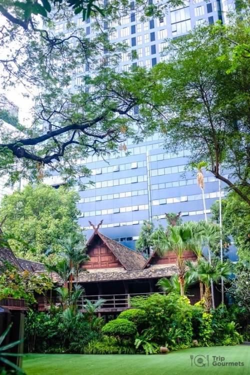 Kamthieng House Sukhumvit Bangkok traditional Lanna building