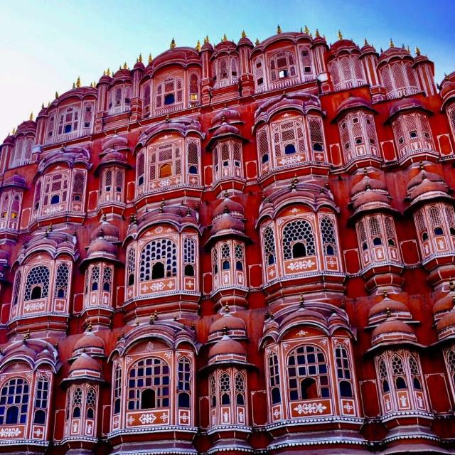 This is the Hawa Mahal in Jaipur Its actually thehellip