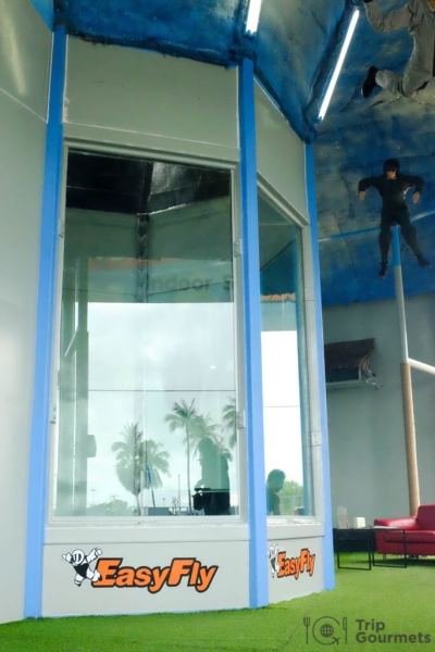 Activities Koh Samui easyfly skydive indoor