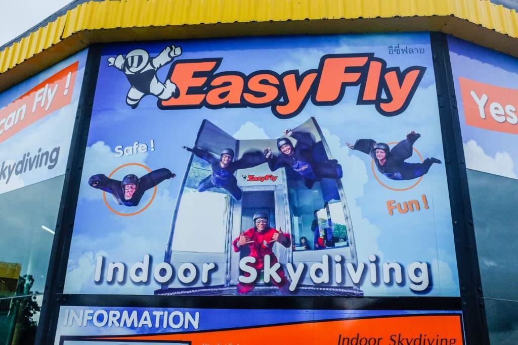 Activities Koh Samui easyfly indoor skydiving