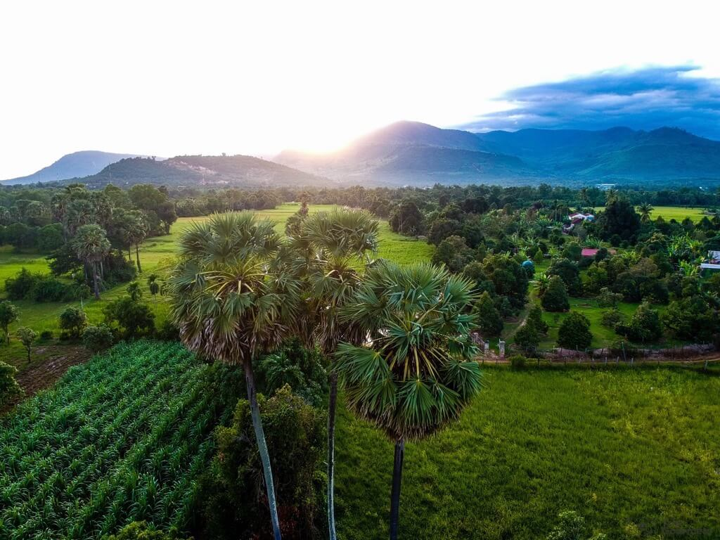 Thing to do in Kampot DJI Spark Kampot Landscape cambodia drone