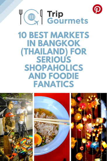 Best Markets Bangkok Pinterest Pin