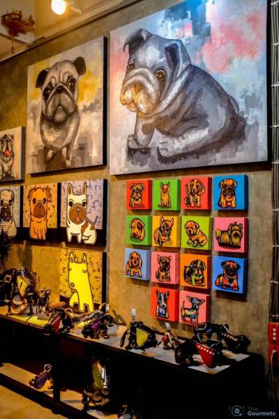 Best Markets in Bangkok Chatuchak art dog