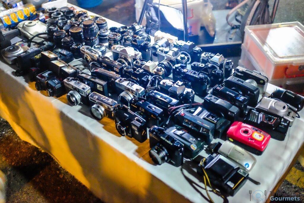 Best Markets in Bangkok JJ Green vintage cameras