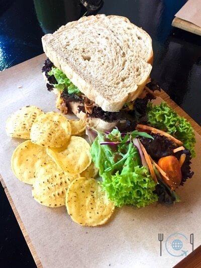 Best food in Ipoh - Pulled Pork Sandwich