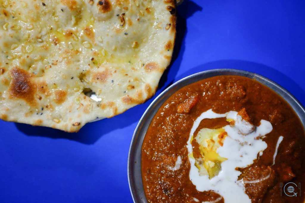 Jaipur itinerary - Butter chicken